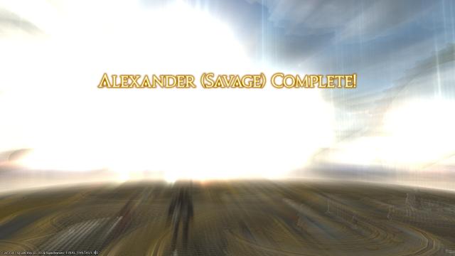 Alexander Savage Complete!